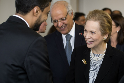 Moroccan Princess Visits the University of Dallas