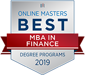The Best Online MBA in Finance Degree Programs, 2019