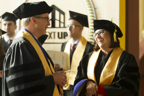 UD's First Doctor of Business Administration Graduates