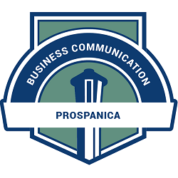 Prospanica Webinar Series: Business Communications Badge