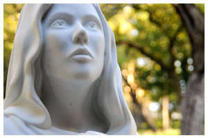 Mary Sculpture