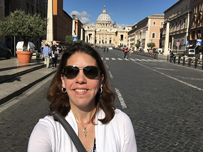 Megan Smith in Rome