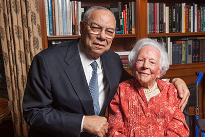 Colin Powell and Margaret McDermott