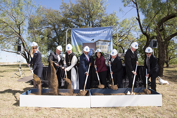 SB Hall Groundbreaking