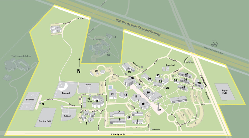 clery campus map