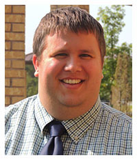 Assistant Director of Residence Life, Seth Oldham