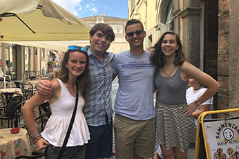 High School Summer Programs Arrive in Rome