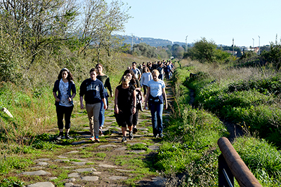 Refugee Walk to Rome